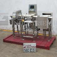 CEIA / Heat & Control Checkweigher Metal Detector Combo MET. DET./CHECKWEIGH
