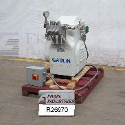 Gaulin Homogenizer Single Stage 90M38TBS