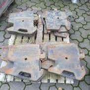 Massey Ferguson 12 PIECES Frontweights