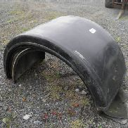 OTHER SELECTION OF 6 TRUCK TRAILER MUDGUARDS NO VAT, MASRGIN SCHEME