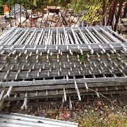 OTHER: GALVANISED RAILINGS 22 SECTIONS 77X55 INCHES NO VAT, MARGIN SCHEME TO BE SOLD OFF SITE