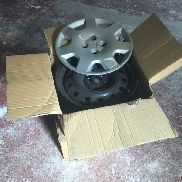 WHEELS: RIMS & WHEEL TRIMS TO SUIT HONDA CIVIC NO VAT, MARGIN SCHEME
