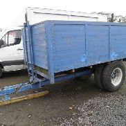 AGRI SINGLE TRAKTOR TIPPING BOG TRAILER FRONT LEITER ANG GRAIN SHOOT MONTIERTES