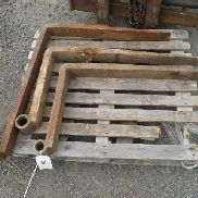 PLANT SELECTION OF 3 PALLET FORKS TO FIT JCB 3CX DIGGER NO VAT, MARGIN SCHEME