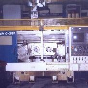DAEWOO PUMA, NO. 10-2SP, FANUC 16TT, COOLANT SYSTEM, CHIP CONVEYOR