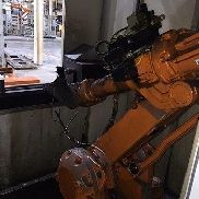 ABB IRB 2400 DEBURRING ROBOTER MIT ICR5 M2004 CONTROLLER
