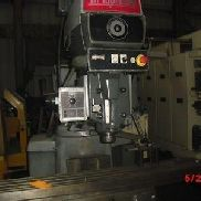 SERIES II BRIDGEPORT VERTICAL MILL - 4 HP