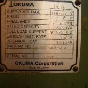 OKUMA MODEL LU 15 COMBINACIÓN CNC CHUCKING 4 AXIS LATHE