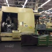 Warner & Swasey Mdl SC-45 4-Axis CNC Turret Lathe. Series M7000, Serial Number 3100644, Allen-Bradley 7340 CNC Controlle ...