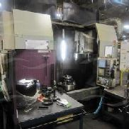 Okuma & Howa mod VTT-70 Twin Turret 4 assi CNC verticale tornitura Center, sn 70032 (Mfg 09/2006), Specifiche: Max swin ...