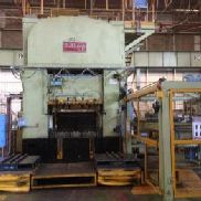 "Blanking Press Bliss Welded Products; Single Action Mechanical; Model: 400T 84""x60""; Capacity: 400 Ton; Table Dimension: ..."