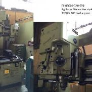 Jig Borer. Genevoise, HYDROPTIC HY-6P; Bed Abmessungen: 1200 mm x 800 mm, (ca.) Maschine Abmessungen: 3000 mm x 3000 mm x 2 ...