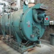 Cleaver & Brooks Modell CB 700-250 Serien-Nr: L-93374 Kessel 10.461.000 ABER Nat Gas Skid Mounted, ca. 9 'W x 16' ...
