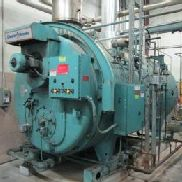 Cleaver & Brooks Modell CB 700-250 Serien-Nr: L-93373 Kessel 10.461.000 ABER Nat Gas Skid Mounted, ca. 9 'W x 16' ...