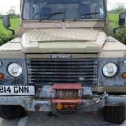 Land Rover '130 Defender Turbo Diesel' Box Van Rear box with side and rear doors, First Registered 7/4/1997, Recorded |M ...