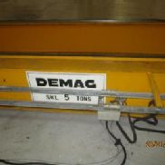 Demag Year 1995, Crane has a 12m/13m span and a 17m upshot.Safe working load is 5 tonnes.Has been taken down and would n ...