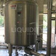 "Lee Industries Inc. modelo 2000L ""DP"" de acero inoxidable Jacketed Harvest Recovery Tank, NB # 9457, sn # 27989-4, mfg. fecha 2"