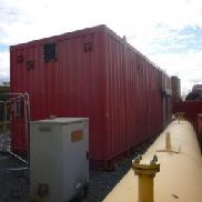FISCHCON TRADING & ENGINEERING BV 'G4F4: I4M2HE4: I4' Containerized 2500 kVA Generator Paket FWP Diesel Power, 2500 kVA ...