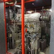 Siemens 'NKS50/63-3' Steam Turbine and Generator Capacity 20MW. Entry pressure 45bar. Entry 400 degree C. Extraction ste ...