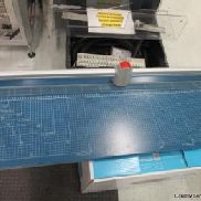 Dahle '448' Rotary Trimmer Cutting length : 1300 mm; Cutting capacity 2mm; Table size overall dimensions : 1.500mm x 384 ...