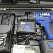 Kobe 'ABH 14.4 VET-2' Cordless Drill UNUSED rechargeable power drill with battery & case. , Please note collection of go ...