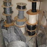 Large quantity of assorted cables , Please note collection of goods from this sale are to be between 15th and 31st Janua ...