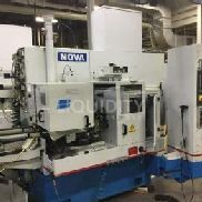 Nova Novamatic 2G Cylindrical Grinder, Type M 10/80 B CNC, S/N 1972001123, Mfg. 2011, Power 480V, 60Hz, 3Ph, 75A, w/ Sie ...