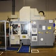 "2004 Matec 30SD Double Spindle CNC Vertical Machining Center with Rotary Pallet Changer, Wash System: Travels: X-17.71"", ..."