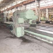 Heavy Duty Lathe KRAMATORSK Model: 1A670 Ø: 2000 mm, L: 16 000 mm