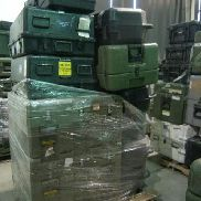 42 Pcs. Shipping and Storage Containers on 4 pallets to include but not limited to: 1 Ea. Pelican iM2975 Storm Case with