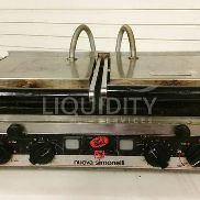 2 Ea. Nuova P2L Electric Panini Grill, SN: 339544 And 339543. Used To Produce Toasted Panini Style Sandwiches And Melt S