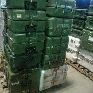 18 Pcs. Shipping and Storage Containers to include but not limited to: 1 Ea. Hardigg iM2400 Storm Case; 1 Ea. Hardigg i