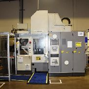 "2004 Matec 30SD Double Spindle CNC Vertical Machining Center with Rotary Pallet Changer, Wash System: Travels: X-17.71"","