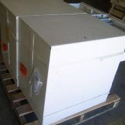 2 each two drawer file safes, (1) Mosler SFC-5, (1) Mosler 40622700A09, both have analog combo's set to 50-25-50, Previe