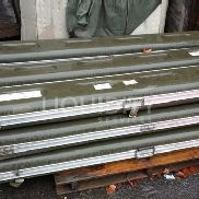 9 Ea. Cases, composite with aluminum frame, used. Some have lighting in them. Units were stored outside. Est. Dimension