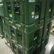 16 Pcs. Shipping and Storage Containers on 2 pallets to include: 1 Ea. Hardigg Shipping Container, L:18in, W:24in, H:16i