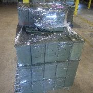 "71 each (approx.) Ammo can PA19, with lids, 12""x6""x 10"", the quantity doesn't match the manifest, on pallet . GL will pr"