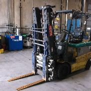 2009 Komatsu FG32SHT-16 6,500lbs lift capacity Electric Forklift. Approximately 13,435 hours. Serial number: 91160A. Ad