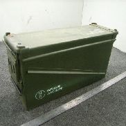 "56ea(Apprx) Ammo cans w/lids, Length 17"" Width 5 1/2"" Height 10"", Magnetic, Color Green, Manifest not accurate, Descript"