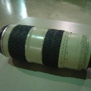 10ea Camera Lens To Include: 2ea Canon, Ultrasonic Zoom Camera Lens, 70-200mm; 4ea Canon, Ultrasonic Zoom Camera Lens, 2