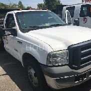 2007 Ford F350 Pickup Truck With A Stake Bed. VIN: 1FDWF36P17E848939. Approximately 80,000 Miles. Unit has good visual a