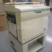 "RisoGraph GR3770 Office copy machine. Digital duplicator Unit includes wheels. Estimated dimensions: 30"" X 26"" X 42"". To"