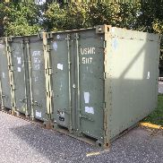 "3 each Keco Industries inc, Quadcon 138K000 shipping container SN K56262, SN K57192, Sn Unknown, each measures 96""X58""X8"