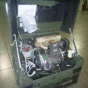 Fermont. Mdl MEP-831A, Diesel engine generator set 3kw, 120 Volts 1 Phase 120/240 Volts 1 Phase, 60 Hertz, Hours 5, Engi
