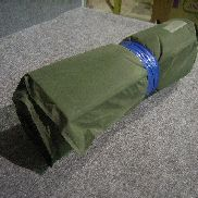 95ea(Apprx)Self-Inflating Sleeping Mat,Soldier Ground Insulator, Bonded To Urethane Foam, Nylon; 20 Inches Wide; 72 Inch