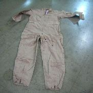 40ea(Apprx) Carter Industries Inc, Flyer's Coveralls, 48L, Tan, Unused.