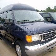 2006 Ford E-350 Handicap equipped Van VIN: 1FBSS31L66HA12858. Meter indicates 19,455 miles. Powered by an Econoline ga