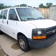 2003 Chevrolet Express 2500 Cargo Van VIN: 1GCGG25U631150243 Meter indicates 66,075 miles. Powered by a Vortec gas eng