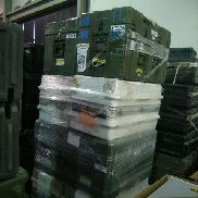 33 Pcs. Shipping and Storage Containers on 3 pallets to include but not limited to: 6 Ea. Pelican Hard Storage Case, bla