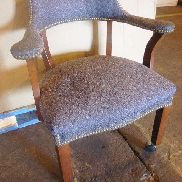 6 ea Mfg: OFS/Styline Industries, office chairs w/wheels, dimensions: 22in X 28.25in X 31.25in, total weight estimated,